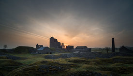 Sunrise at Magpie Mine, Sheldon