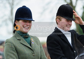 Sophie Walker and Will Grant - The Cottesmore Hunt at Hill Top Farm 10/12/13