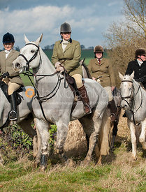 - The Cottesmore Hunt meet at Home Farm, Brooke 3/3/12