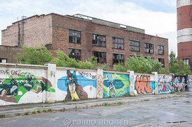 Former tractor factory