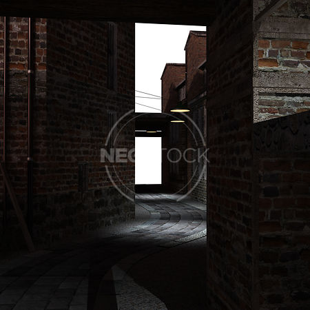 Old_London_Alley_-_02_-_Night