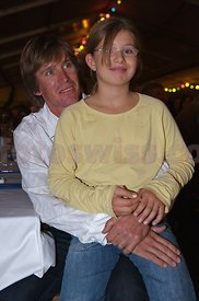 Carmen with daddy Thomas Frischknecht.