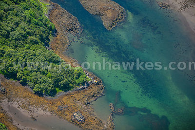Aerial view of the Isle of Mull, Scotland