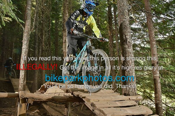 Tuesday July 31st Devils Club bike park photos