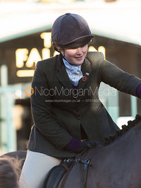 Alice Pegley - The Cottesmore Hunt in Uppingham on New Year's Day 2013