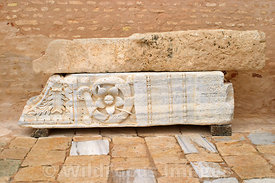Some more Roman salvage in the Grand Mosque, Kairouan, Tunisia; Landscape
