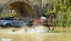 Michael Ryan and DUNLOUGH STRIKER, cross country phase, Land Rover Burghley Horse Trials 2018