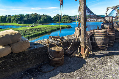 Supply Dock, Caerphilly Castle- Caerphilly, Wales