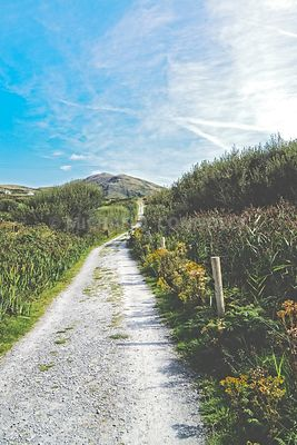 Road to Cahergall- Cahersiveen, Ireland