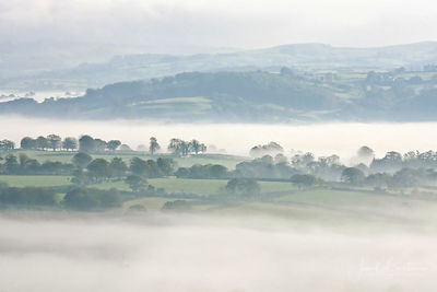 Teifi valley from Llanwenog
