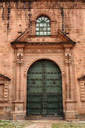 Main entrance of the Temple of Triumph / Templo del Triunfo, Cusco, Peru
