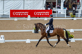Sam Ecroyd rides a lovely test in the CIC 3* at the NAF Five Star Hartpury International Horse Trials