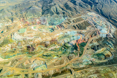 Open Pit Gold Mine in Nevada Usa