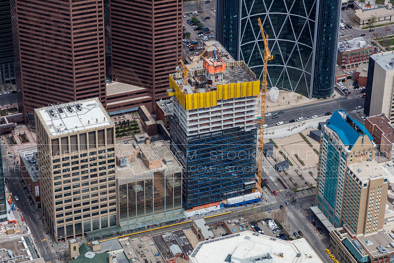 Telus Sky - Under Construction, Calgary