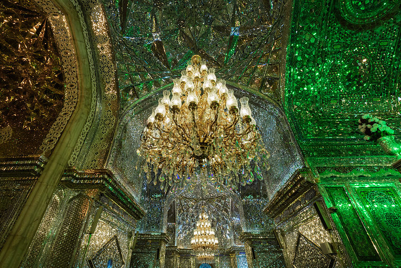 Mirrored Room at the Holy Shrine of Shah-e-Cheragh