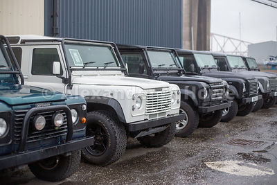 Land Rover Defender vehicles at Land Rover specialists Engine 710