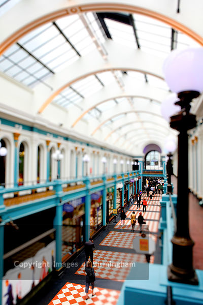 Great Western Arcade, Birmingham, West Midlands, England, UK