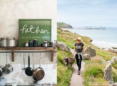 Foraging in Cornwall (For Boundless Magazine) photos