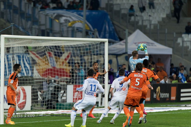 Football 2014-15 OM-Lorient (3-5) photos