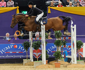 Louise Pavitt and Acordio - The Horse and Hound Foxhunter, Horse of the Year Show 2010