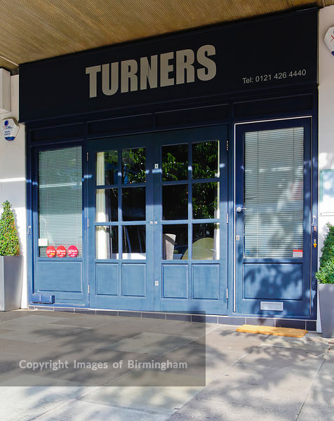 Turners of Harborne. Michelin starred restaurant. Harborne, Birmingham.