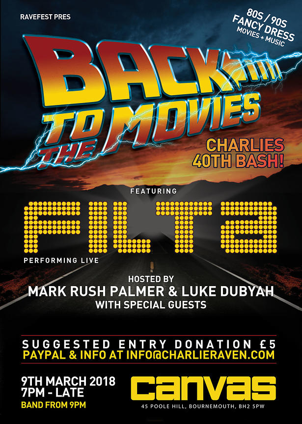 Ravefest presents Back to the Movies