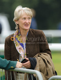 Elizabeth Inman - dressage phase,  Land Rover Burghley Horse Trials, 6th September 2013.