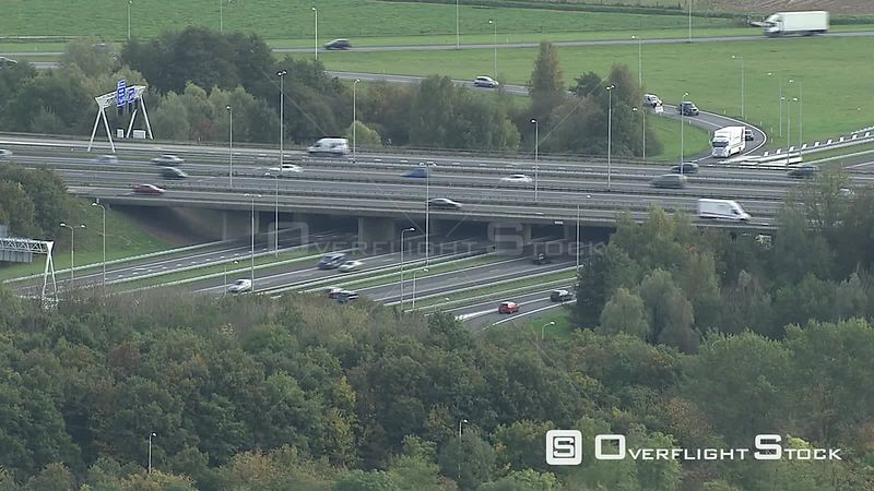 Highway Overpass Netherlands