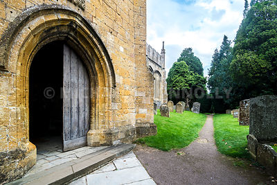 Side Door, St. James Church- Chipping Camden, England