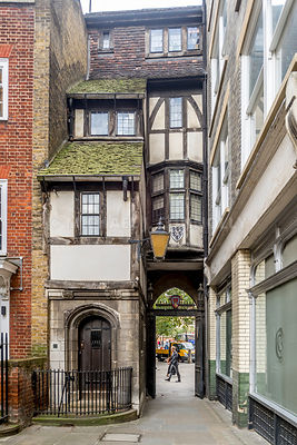 St. Bartholomew Church Rectory House- London, England