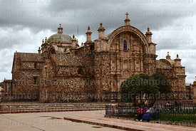 Church of Santiago the Apostle / Immaculate Conception, Lampa, Peru