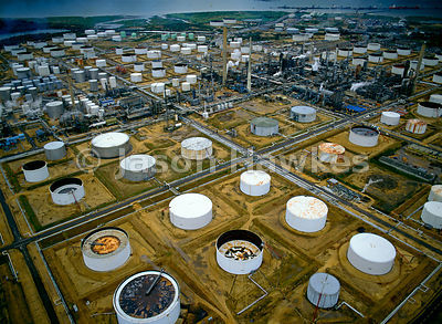 Fawley Oil Refinery, UK.