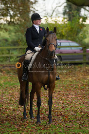 Louisa Fear - The Cottesmore Hunt meet in Somerby 6/11