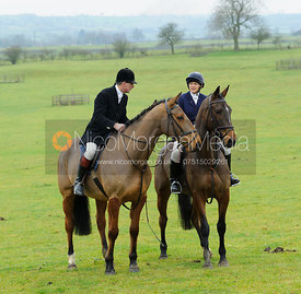 William and Louise Bevin - The Cottesmore Hunt at Hill Top Farm 10/12/13