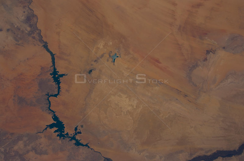 EARTH Egypt -- 2012 -- Satellite image of the Toshka Lakes in Egypt -- Picture by Lightroom Photos/NASA