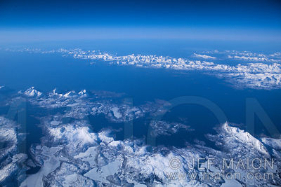 Lofoten islands aerial