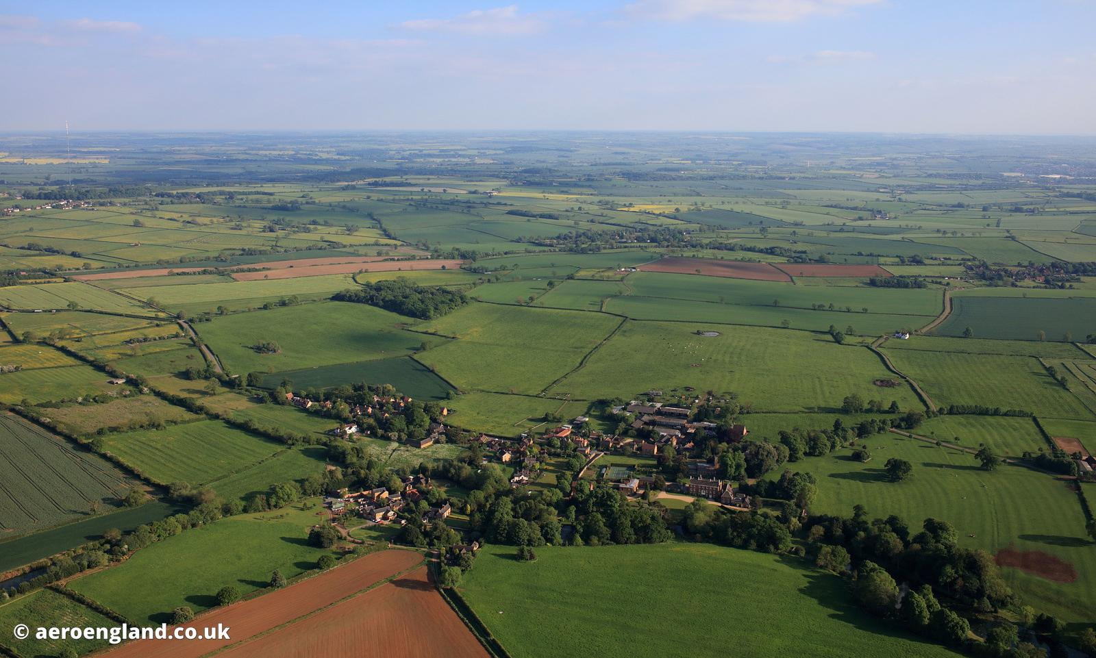 Goadby Marwood, Leicestershire  aerial photograph
