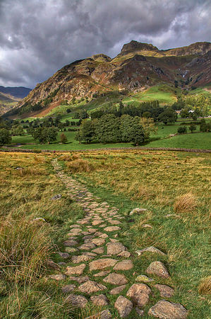 Towards Harrison Stickle