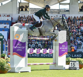 Mark Mcauley and Miebello  - FEI Nations Cup, Dublin Horse Show 2017