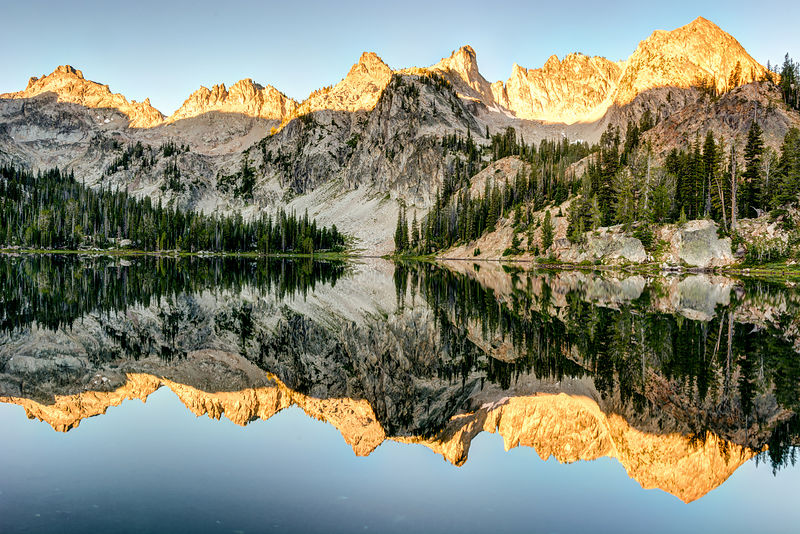 Alice Lake Sunrise
