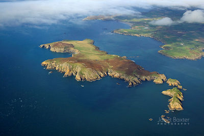 PEMBROKESHIRE ISLANDS AERIAL PHOTOS photos