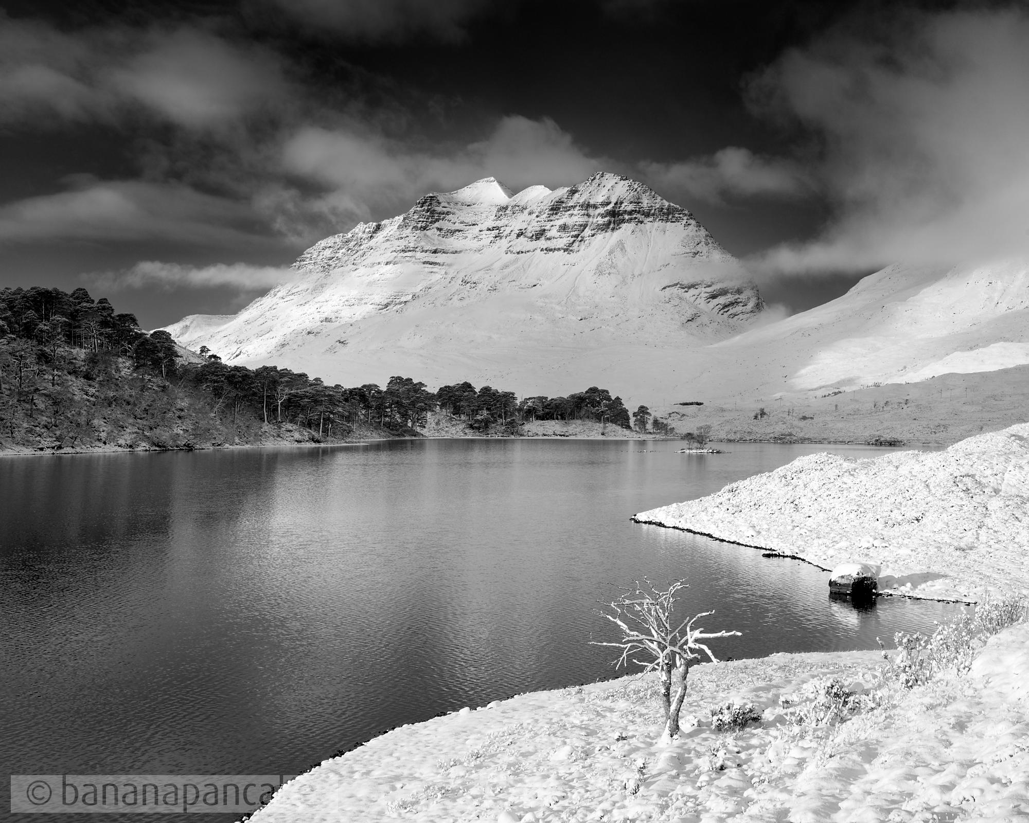 BP3525 - Liathach from Loch Clair, Glen Torridon, Scotland