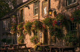Late light at the Red Lion Litton