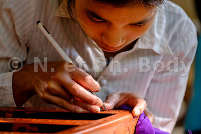 FABRICATION DE LAQUE, BAGAN//LACQUERWARE, BAGAN