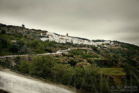 White Andalucian village