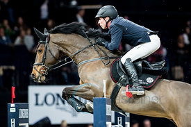 Zurich, Switzerland, 26.1.2018, Sport, Reitsport, Mercedes-Benz CSI Zurich - Longines Grand Prix. Bild zeigt Hans-Dieter DREHER (GER) riding BERLINDA...26/01/18, Zurich, Switzerland, Sport, Equestrian sport Mercedes-Benz CSI Zurich - Longines Grand Prix. Image shows Hans-Dieter DREHER (GER) riding BERLINDA.