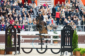 Paris, France, 17.3.2018, Sport, Reitsport, Saut Hermes - .PRIX GL Events Bild zeigt Janika SPRUNGER(SUI) riding Ninyon...17/03/18, Paris, France, Sport, Equestrian sport Saut Hermes - PRIX GL Events. Image shows Janika SPRUNGER(SUI) riding Ninyon.