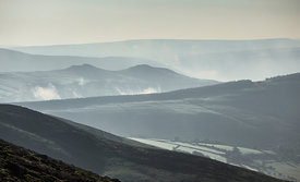 Valley mist on Kinder