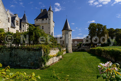 FRANCE, MAINE ET LOIRE, CHATEAU DU RIVAU//France, Indre et Loire, Castle of Rivau
