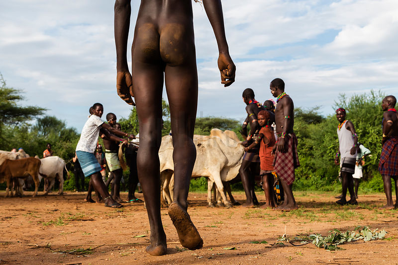 Hamar Man Preparing to Jump Bulls